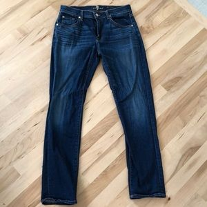 7 For All Mankind Jeans 27 The Relaxed Skinny